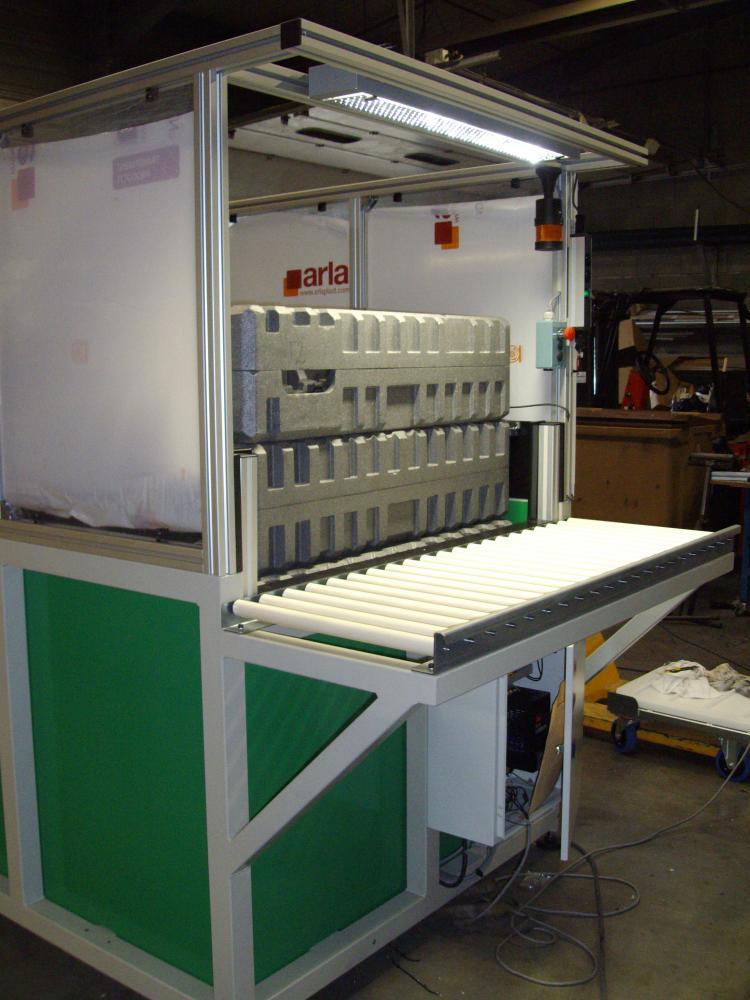Ligne montage chamb ry fabrication machines savoie for Conception de plancher en ligne